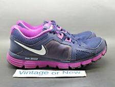 Women's Nike Dual Fusion ST2 Imperial Purple White Running 454240-500 sz 9