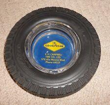 vintage good year campbell tire co ashtray.  hawaii hawaiian