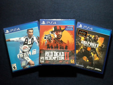 Red Dead Redemption 2, Call of Duty Black Ops 4 & Fifa 19 (Brand New)