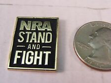 NRA NATIONAL RIFLE ASSOCIATION OF AMERICA PIN STAND AND FIGHT