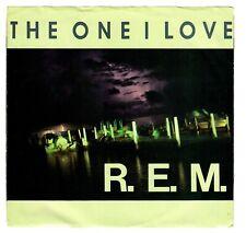 R.E.M. 1985 I.R.S. Promo 45rpm The One I Love b/w The One I Love cLEAn!