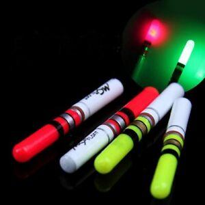 1x LED Knicklicht Nachtangel Aal Zander Gelb oder Rot incl. Batterie