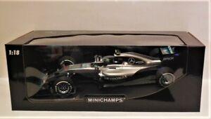 1/18 Minichamps Mercedes AMG F1 W07 # 6 Nico Rosberg Winner 2016 Australian GP