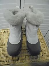 The North Face Womens Winter Boots 6 M 400 Gram Primaloft Waterproof Faux Fur