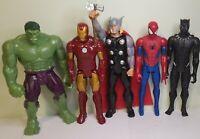 "Hasbro Marvel Titan Hero Series Action Figures 12"" Hulk Iron Spider Man Thor"