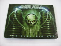 OVERKILL - THE ELECTRIC AGE - CD+DVD LIKE NEW CONDITION 2012 MEDIABOOK