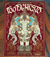 Foo Fighters Concert Poster Print Fresno Ca 12/1/2017 Obey Style California Art
