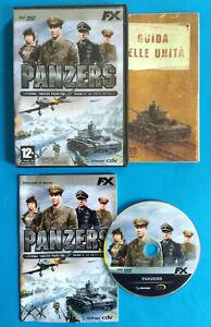 Videogame PC Dvd-Rom PANZERS Gazzetta Dello Sport FX Interactive no cd lp mc(D4)