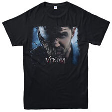 Venom Poster T-shirt Villain Birthday Gift Tom Hardy Unisex Adult Kids Tee Top