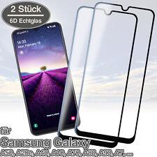 2x Panzerfolie Samsung A50 A20e A40 A30s A70 Displayschutz Glas Folie Schutzglas