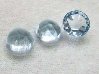 6mm Sky Blue Topaz Rosecut Round Loose Gemstone 10 piece 6mm Blue Topaz Rosecut Round Gemstone Sky Blue Topaz Round Rosecut Gemstone