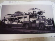 1960 PLYMOUTH VALIANT  NEW CARS ON CARRIER  # 1  11 X 17  PHOTO /  PICTURE