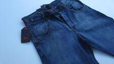 Cotton Regular Size Distressed Loose Jeans for Men