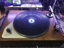 Thorens TD 111 Early Model. Very Rare Small Brother Of TD 124. Recently Serviced