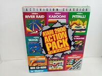 Atari 2600 Action Pack for Windows (PC, 1995) 830/S4-2