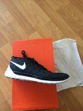BNIB WOMENS Ladies Nike Free 5.0 Running Trainers Size 7.5  New Design Black