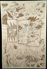 DC Comic GREEN LANTERN #6 Page 5 Published Original Art Herbert SINESTRO GARDNER