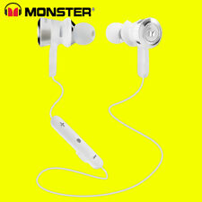 Monster Clarity HD Intraurales Bluetooth Inalámbrico Auriculares Blanco