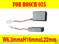 Carbon Brushes For Bosch Die grinder 6.3X16mm GWS18-180 230 GWS19 GWS20 GWS23 24