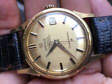 Omega constellation 18k Solid Gold Vintage Mens watch All Original Excellent