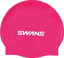SWANS Bonnet de bain silicone Rose