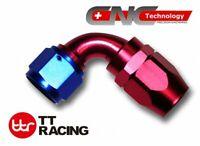 AN8 AN-8 8 AN 90 Degree Swivel Fitting Hose End Adaptor