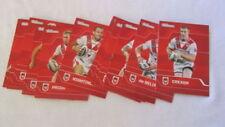 Modern (1970-Now) Era St George Illawarra Dragons Team Set NRL & Rugby League Trading Cards