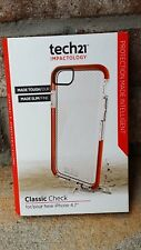 Authentic Tech21 Impactology Classic Check Case for iPhone 6 & iPhone 6S - Clear
