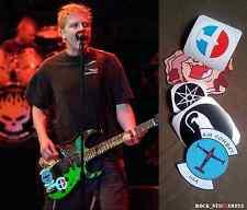 Dexter Holland guitar stickers Offspring decal signature Ibanez Full Set 5