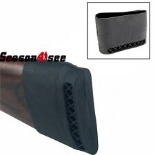 Airsoft Hunting Gun Rifle Pad Rubber Non-Slip Cover On Butt Stock Black