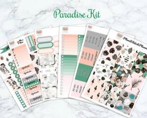 Paradise Weekly Sticker Kit for the Erin Condren Vertical Planner
