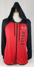 Brand New Women's NBA Fanatics Chicago Bulls Long Sleeve Hooded Sweatshirt.