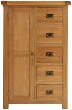Traditional Solid Wood Wardrobes with 1 Doors