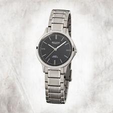 Silber Armbanduhren mit Saphirglas