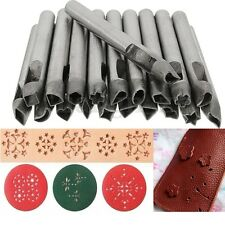 SET 20X poinçon Trous à frapper Punch DIY Outil Cuir poinconner Perforateur 6mm
