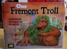 CHIA PET SEATTLE FREMONT TROLL PLANTER NEW IN BOX UNUSED WITH SEEDS