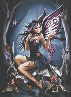 FAIRY OF THE NIGHT # 2 - COUNTED CROSS STITCH CHART