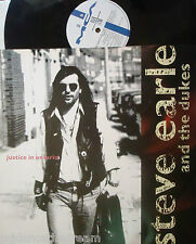 """STEVE EARLE & THE DUKES ~ Justice In Ontario ~ 12"""" Single PS"""