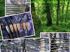 """50)30"""" Green CAMO pure carbon professional hunting arrow 340 spine by EMS fast"""