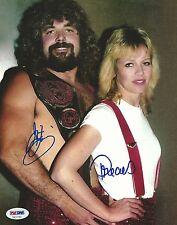 Jimmy Jam Garvin & Precious Signed WWE 8x10 Photo PSA/DNA COA NWA WCW Autograph
