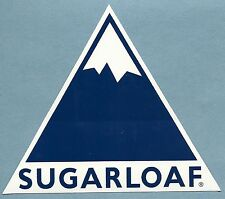 SUGARLOAF MAINE SKI SNOWBOARD AREA RESORT STICKER DECAL
