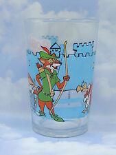 Robin des Bois Déssins années 80 - Verre à Moutarde Décoré Illustré Disney