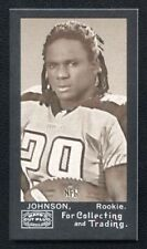 "FIRST ONE MADE!! 2008 Topps Mayo ""Harvard Back"" Rookie CHRIS JOHNSON RC #01/25"