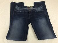 Buckle BKE Women's Denim Blue Jeans Sabrina Boot Stretch Size 27x31.5