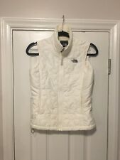 White North Face slim Puffer Vest