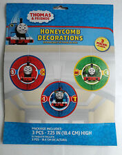 Thomas and Friends Honeycomb Decorations