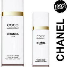 100%AUTHENTIC RARE CHANEL COCO MADEMOISELLE PARFUM BODY SATIN SPRAY DISCONTINUED