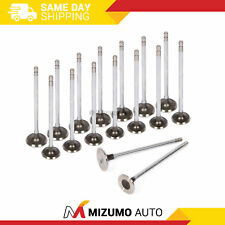 Intake Exhaust Valves Fit  88-95 Honda CRX Civic Delsol D15B D16A6