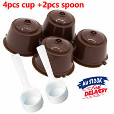 2 Sets Pod Dolce Gusto Capsule Cup Nescafe Reusable Filter Pod Refillable For