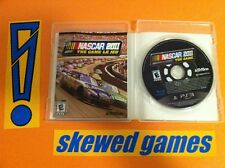 NASCAR The Game 2011 - PS3 PlayStation 3 Sony COMPLETE